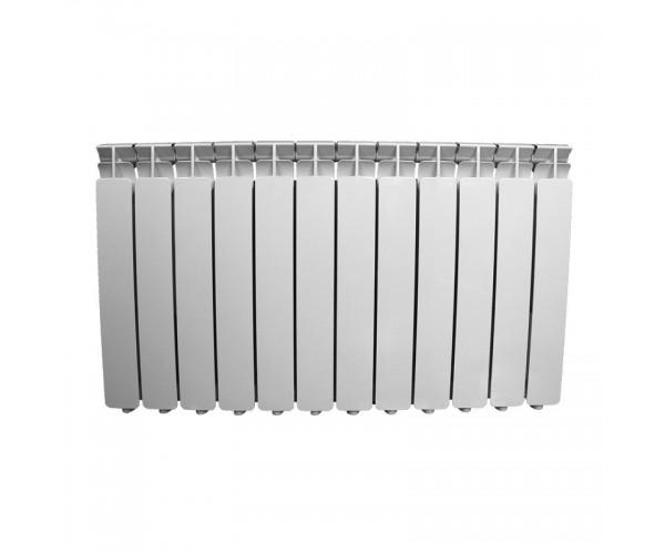Радиатор алюминиевый 500*80, 12 секций Oasis