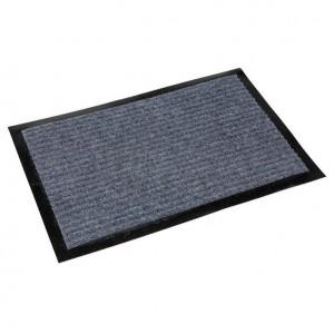 Коврик на резиновой основе влаговпитывающий 60x90 см, серый БАЛТТУРФ