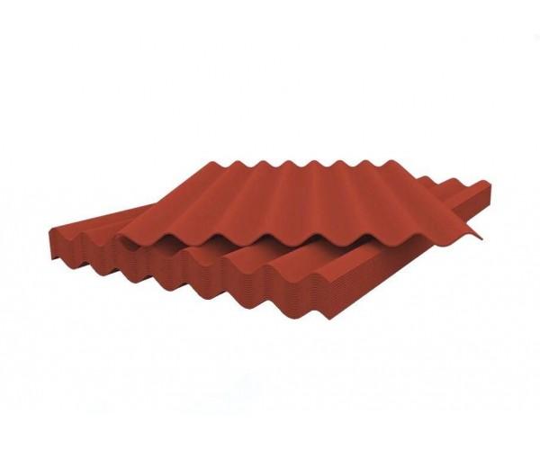 Шифер волновой красный 5,8*1130*1750 Белгород