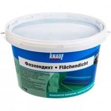 Гидроизоляция латексная ФЛЭХЕНДИХТ (Flachendicht), 5 кг, KNAUF