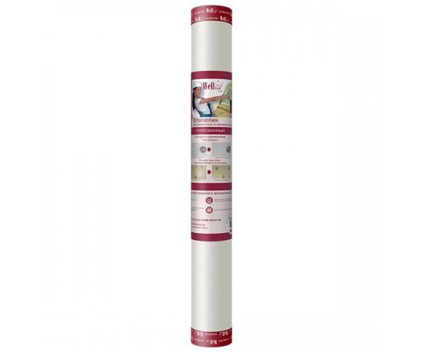Грунтованный малярный флизелин Wellton WFP130 1*25м (130г/м2)