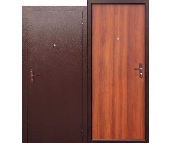 Металлическая входная дверь 980*2060мм, правая Стройгост 5-1