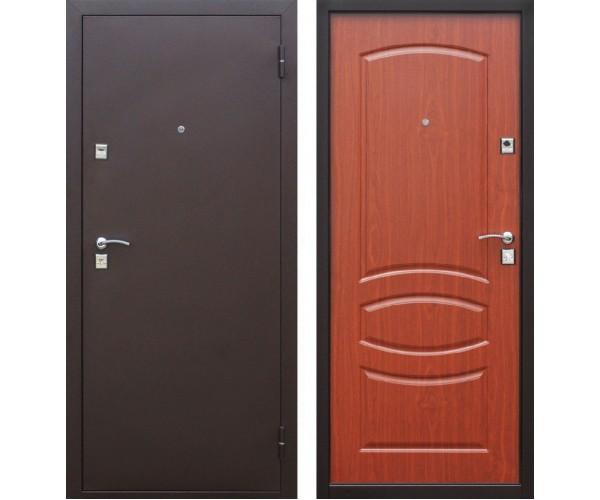 Металлическая входная дверь 860*2050мм, левая Стройгост 7-2