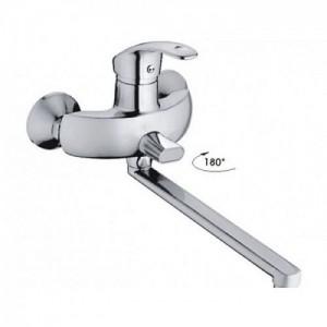 Смеситель для ванной длинный излив Haiba HB2221