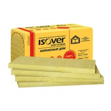 Теплоизоляция ISOVER Каркасный дом (50*600*1000) 8шт. 4,8м2 (0,24м3)