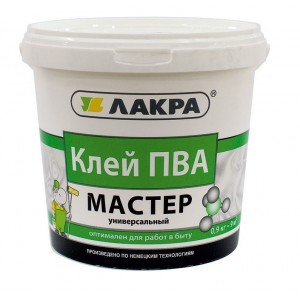 Клей ПВА универсальный Мастер 0,9 кг, ЛАКРА