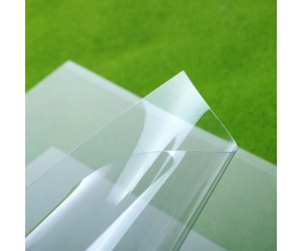 Монолитный листовой пластик ПЭТ-А 1250х2050х0.5мм (прозрачный) Новаттро