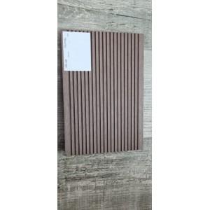 Террасная доска ДПК 140х22мм, вельвет шлифованный, Махагон