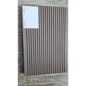 Террасная доска ДПК 160х24мм, вельвет шлифованный, Венге