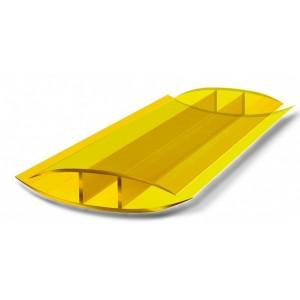 Профиль соединительный неразъемный НР 4мм Желтый L=6м