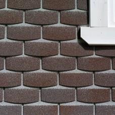 Фасадная плитка Hauberk Камень кварцит 2,2м2 (250*1000мм) 20шт. Технониколь