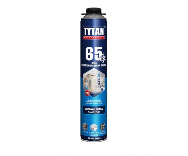 Пена монтажная профессиональная 65 зимняя Tytan Professional (750 мл)