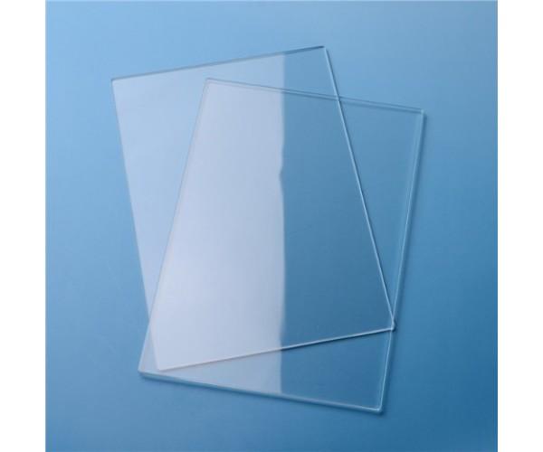 Монолитный листовой пластик ПЭТ-Г 1250х2050х1мм (прозрачный) Новаттро