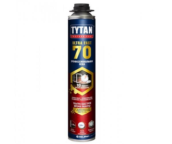Пена монтажная профессиональная 70 ULTRA FAST Tytan Professional (870 мл)