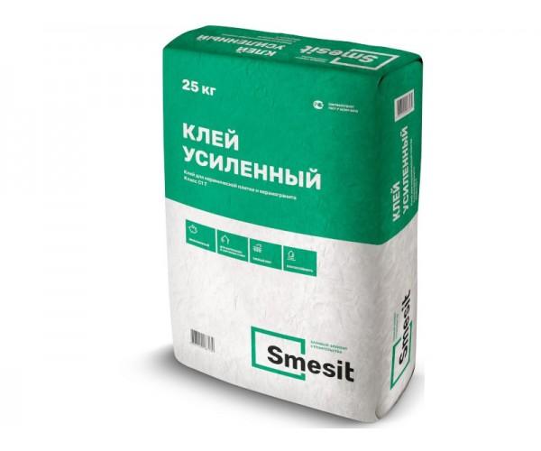 Клей для плитки Усиленный, 25кг, Smesit