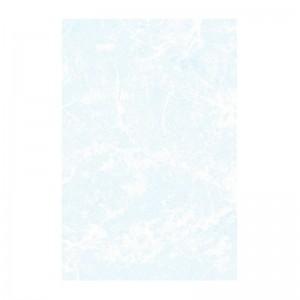 Плитка Мрамор настенная 200х300 мм светло-синяя БКСМ