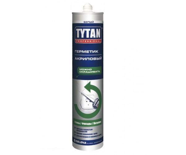 Герметик акриловый белый Tytan Professional (310 мл)