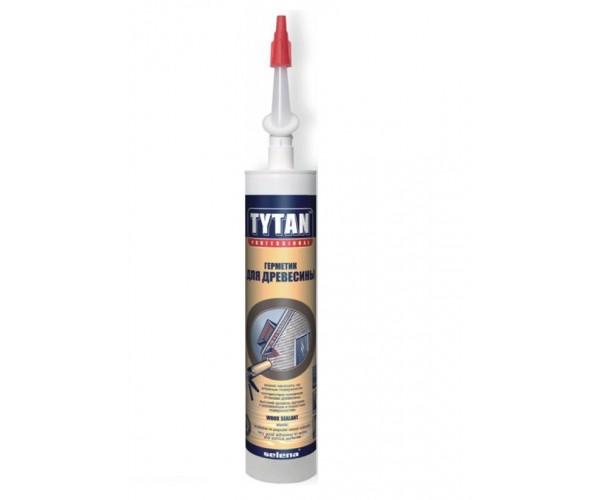 Герметик акриловый для древесины, махагон Tytan Professional (310 мл)