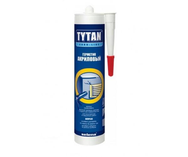 Герметик акриловый белый Tytan Euro-Line (290 мл)