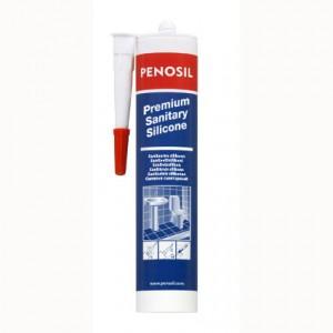 Герметик силиконовый санитарный бесцветный Penosil Premium (310 мл)