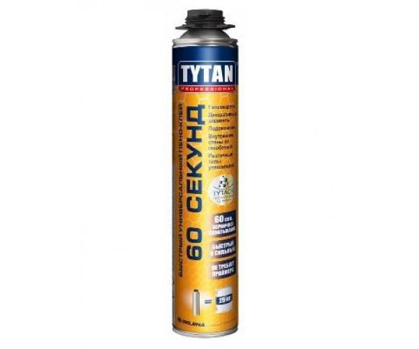 Быстрый универсальный пено-клей 60 секунд Tytan Professional (750 мл)