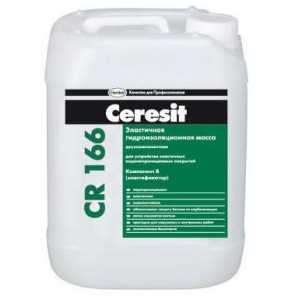 Эластичная гидроизоляционная масса CR 166 (компонент Б) Ceresit 10 кг