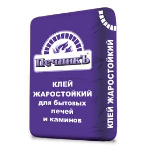 Клей для облицовки печей и каминов ПЕЧНИК (до +250 С), 20кг