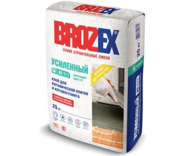 Клей для плитки KS 111 Усиленный Brozex 25кг
