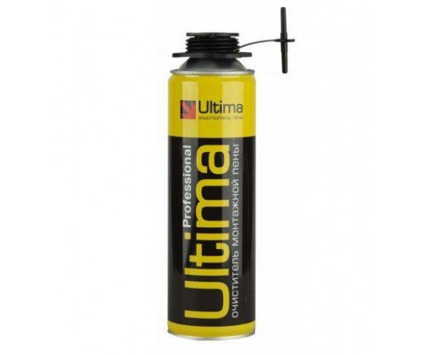 Очиститель монтажной пены Ultima (500 мл)