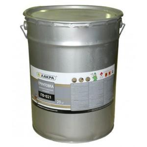 Грунт ГФ-021 серый ЛАКРА 20 кг