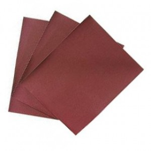 Шлиф-шкурка на бумажной основе №80, 220*270мм, упаковка 10шт