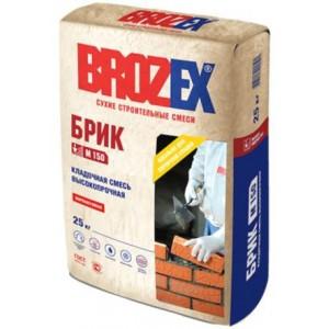 Кладочная смесь высокопрочная М-150 Брик Brozex 25 кг