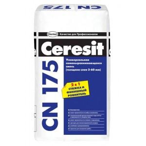 Напольная самонивелирующаяся смесь CN 175, 25кг Церезит