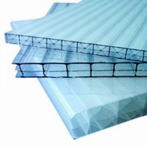 Сотовый поликарбонат 2100х6000х3,5мм (прозрачный) Рациональ СафПласт