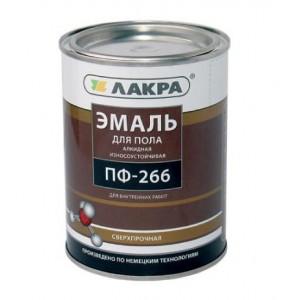 Эмаль ПФ-266 золотисто-коричневая Лакра 3кг