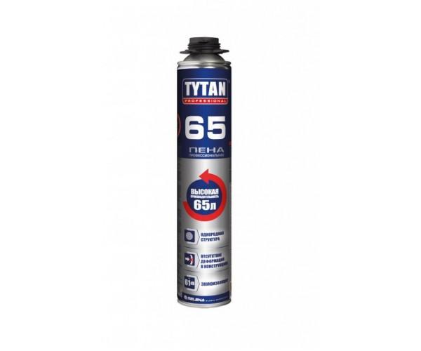 Пена монтажная профессиональная 65 Tytan Professional (750 мл)
