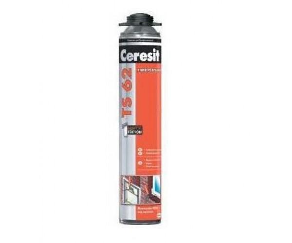 Пена монтажная профессиональная TS 62 Ceresit (750 мл)