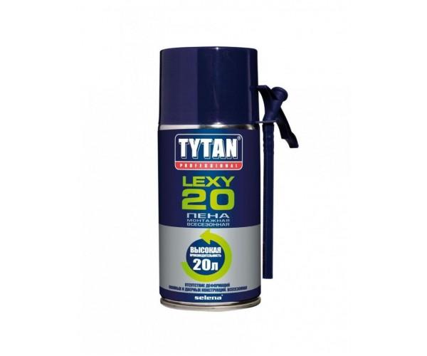Пена монтажная Lexy 20 всесезонная TYTAN Professional (300 мл)