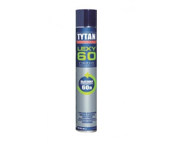 Пена монтажная Lexy 60 всесезонная TYTAN Professional (750 мл)