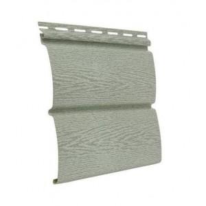 Сайдинг виниловый Timberblock 3400*230мм (0,782м2) Ясень прованс зеленый, Ю-Пласт