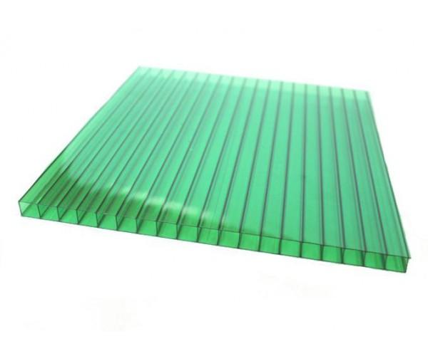 Поликарбонат 2100х6000х10мм (зеленый) Соталайт