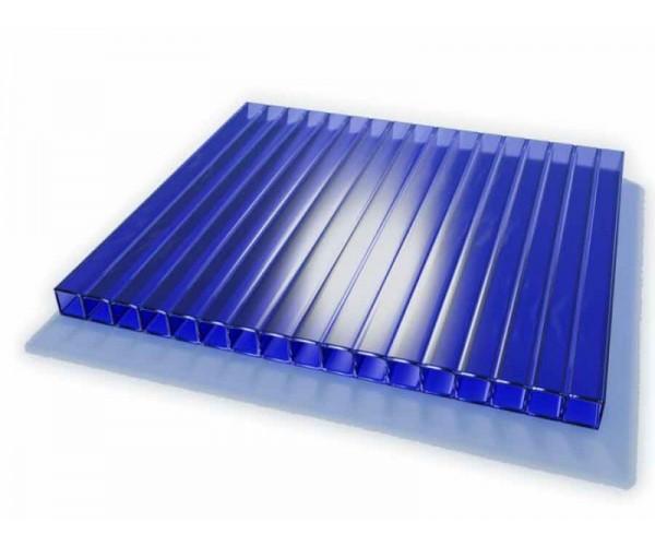 Поликарбонат 2100х6000х10мм (синий) Соталайт
