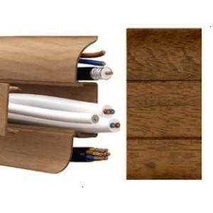 Плинтус (022 орех кофейный) 2,5м. Т-Пласт