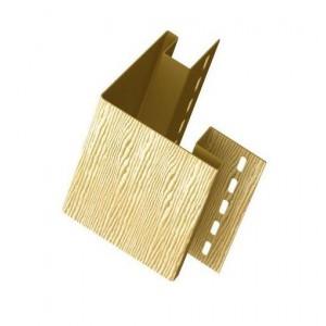 Наружный угол для винилового сайдинга 3050мм, Дуб золотой Ю-Пласт