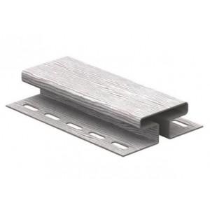 Н-профиль соединительный для винилового сайдинга 3050мм, Дуб серебристый Ю-Пласт