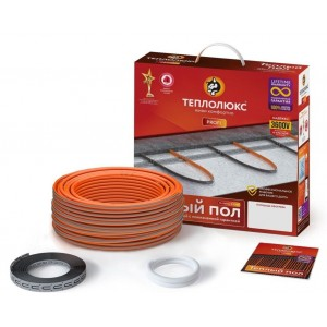 Нагревательный кабель Теплолюкс ProfiRoll 129 м/2250 Вт