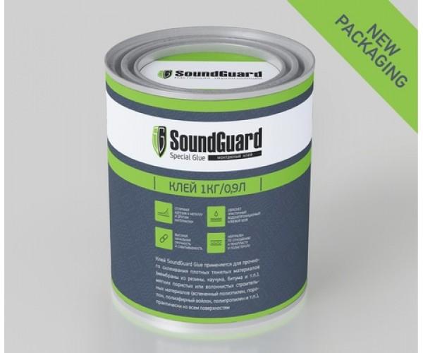 Клей SoundGuard 1 кг для звукоизоляции