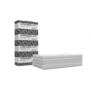 Шумопоглощающая плита СтопЗвук Эко (1,2м*0,6м*50мм) 6шт. 4,32м2